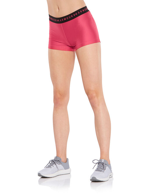 be5f364d36d9 Women's Burgundy Under Armour Gym Shorts | Life Style Sports