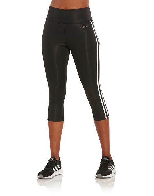 Womens 3-Stripes Capri Leggings