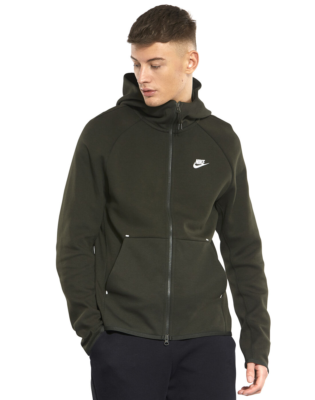 nike fleece green