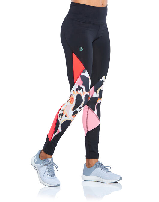 Womens Rush Printed Legging