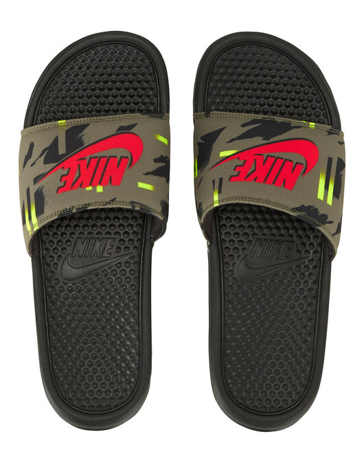Mens Benassi Slides