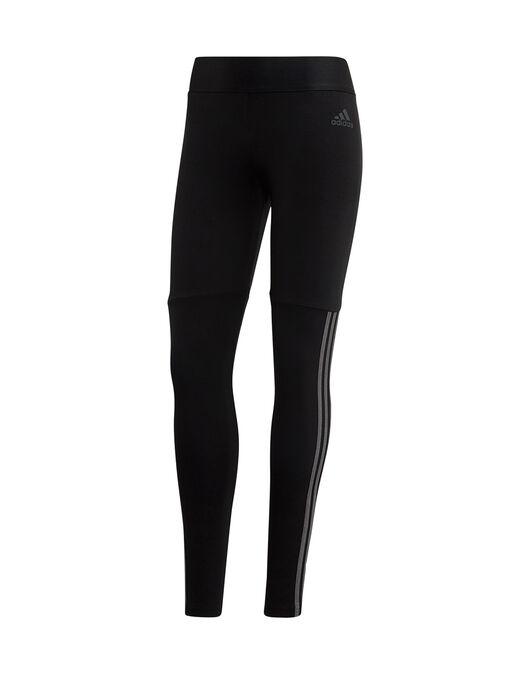 Womens 3-Stripes Velour Leggings