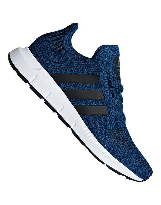391cc920f5661 Boy s Blue adidas Originals Swift Runs