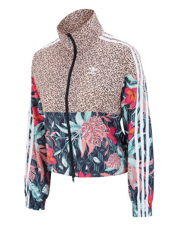Womens Floral Track top