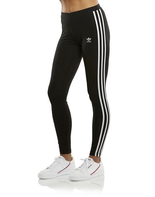 a413ec080fe024 Women's adidas Originals 3 Stripe Legging | Black | Life Style Sports