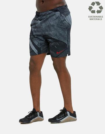 Mens Woven AOP Training Shorts