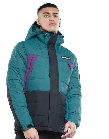 Mens Hooded Puffa Jacket