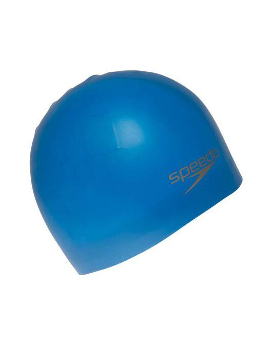 Plain Mould Silicone Junior Swim Cap