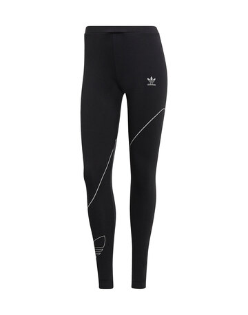 Womens Reflective Trefoil Leggings