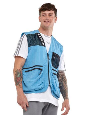 Mens Adventure Cargo Vest Jacket