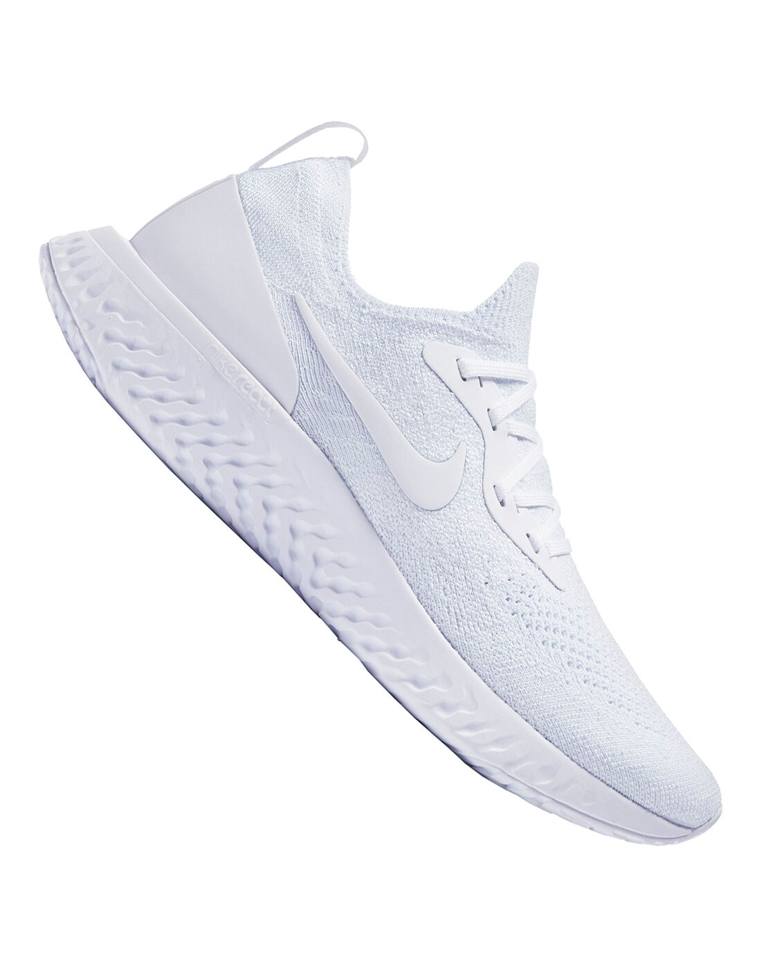 Women's Nike React Flyknit | White