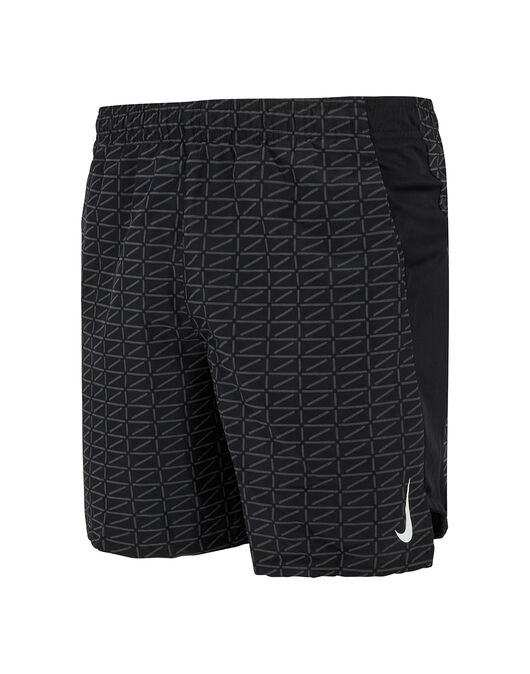 Mens Run Division Challenger 7Inch Shorts