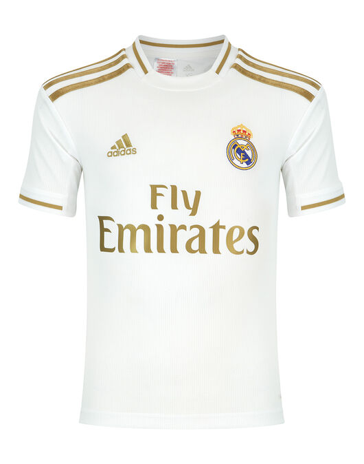 new concept b9144 0c1fb adidas Kids Real Madrid 19/20 Home Jersey