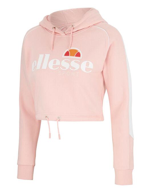 soffrire Fai tutto con il mio potere Povertà estrema  Women's Pink Ellesse Cropped Hoodie   Life Style Sports