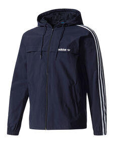 Mens 3 Stripe Windbreaker