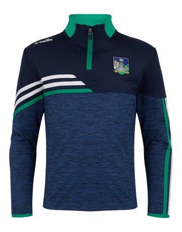 Kids Limerick Nevis Brushed Half Zip Top