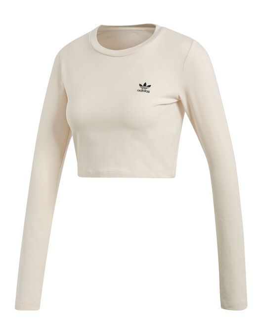 5020bc439ad08 Women s adidas Originals Long Sleeve Crop Top