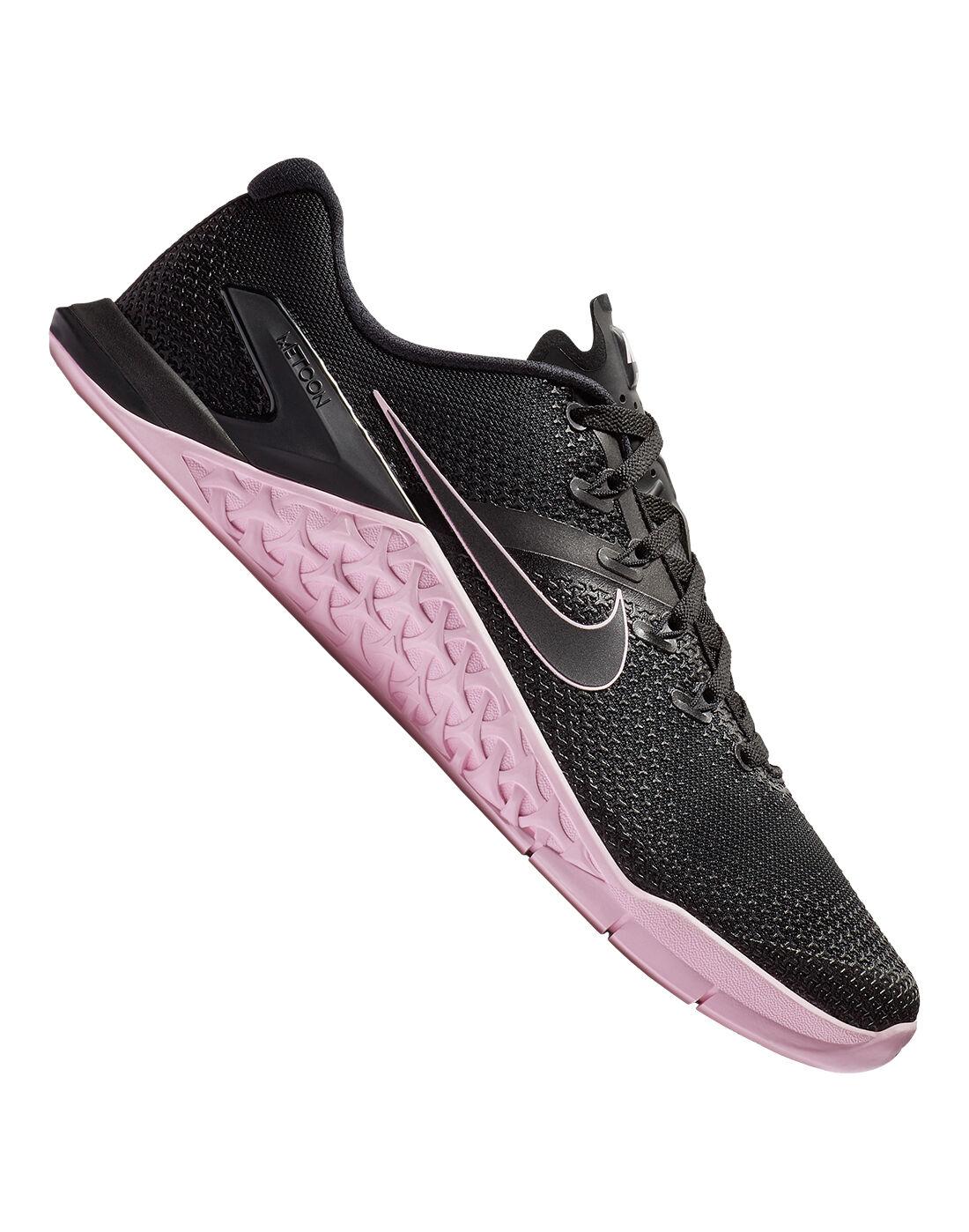 Men's Black Nike Metcon 4 Gym Shoes