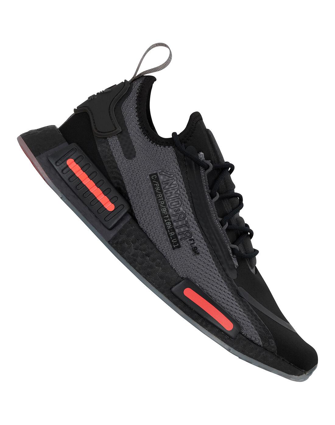 adidas Originals Mens NMD R1 Spectoo - Black | adidas cheer ...