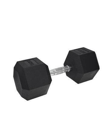 UF Hex Dumbbell Rubber Single 25KG