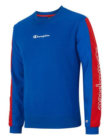 Mens Sports Crew Neck Sweatshirt