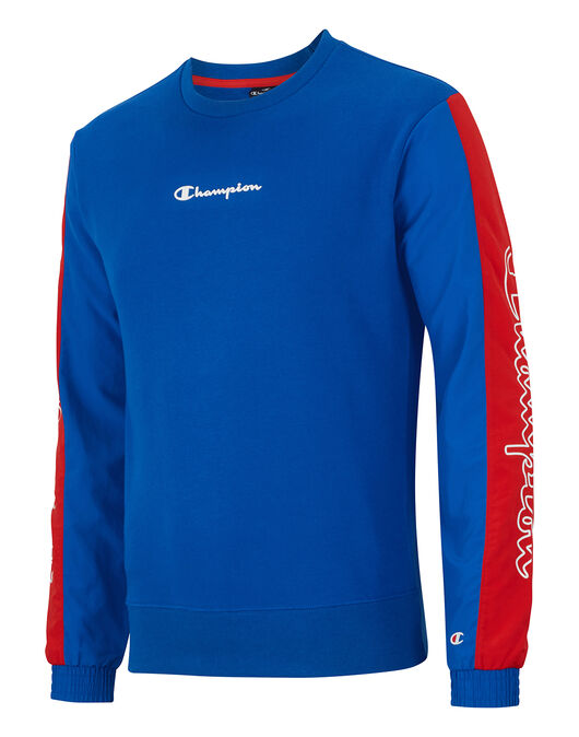 Mens Sports Crew Neck Sweatshirt
