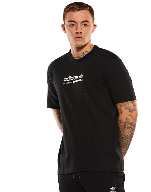 1dd7af31e3104 Men's adidas Originals Kaval T-Shirt | Black | Life Style Sports