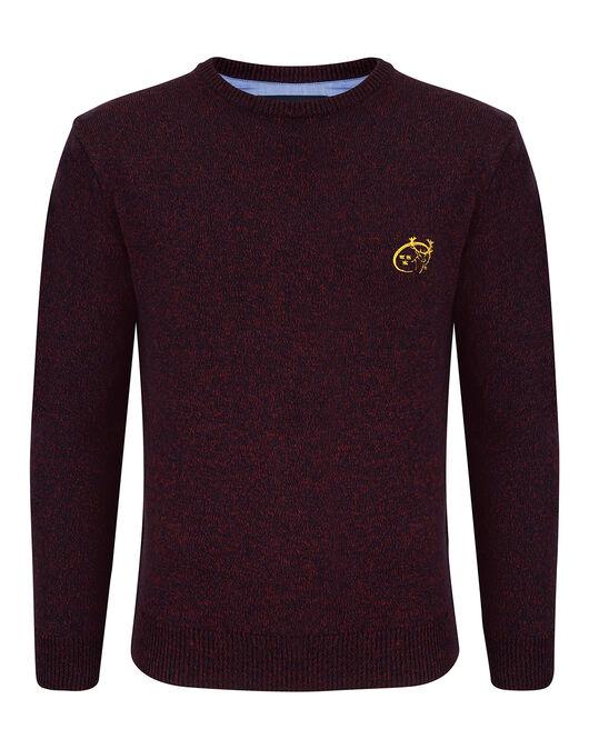 Mens Munster Mouline Crew Sweater