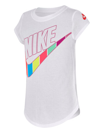 Younger Girls Stripe Short Sleeve T-Shirt