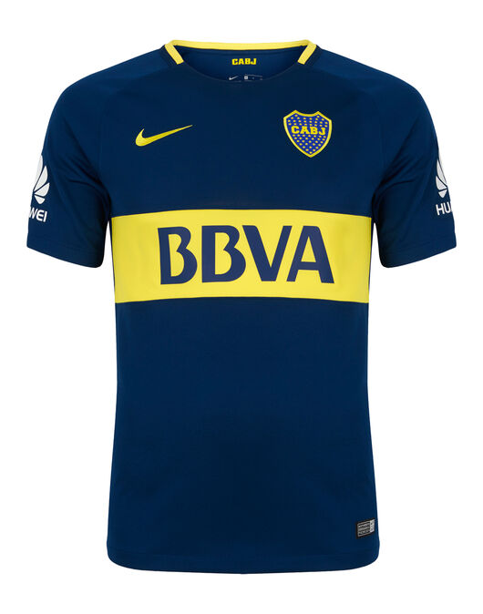 official photos baf1d 5e125 Nike Adult Boca Juniors 17/18 Home Jersey | Life Style Sports