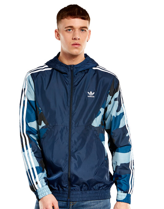 0dc01c3116738c adidas Originals Mens Camo Windbreaker | Life Style Sports