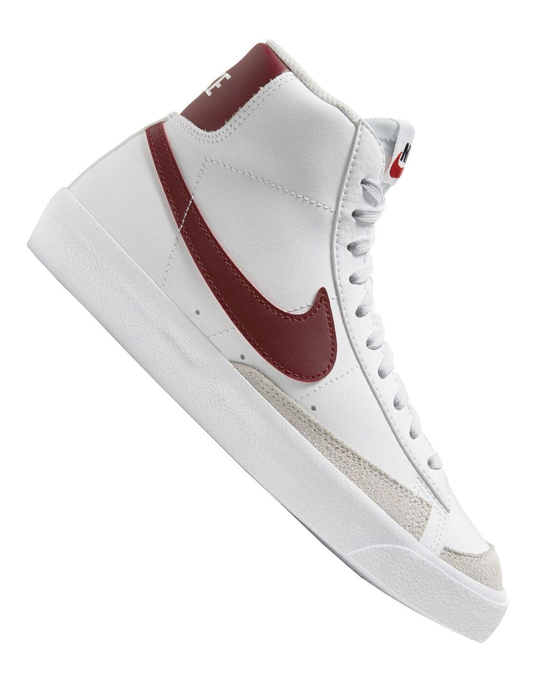 Nike Older Kids Blazer Mid - White | adidas gazelle white on feet ...