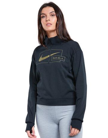 Womens Icon Clash Half Zip Sweatshirt