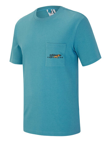 Mens Adventure Back Logo T-Shirt