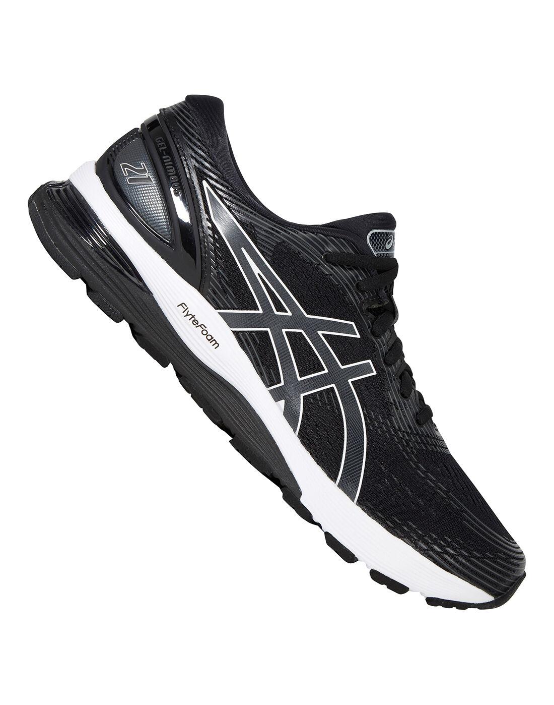 Pour Shoes Gel Black Running Asics Nimbus Mens Chaussures 21 Homme wOP08Xkn