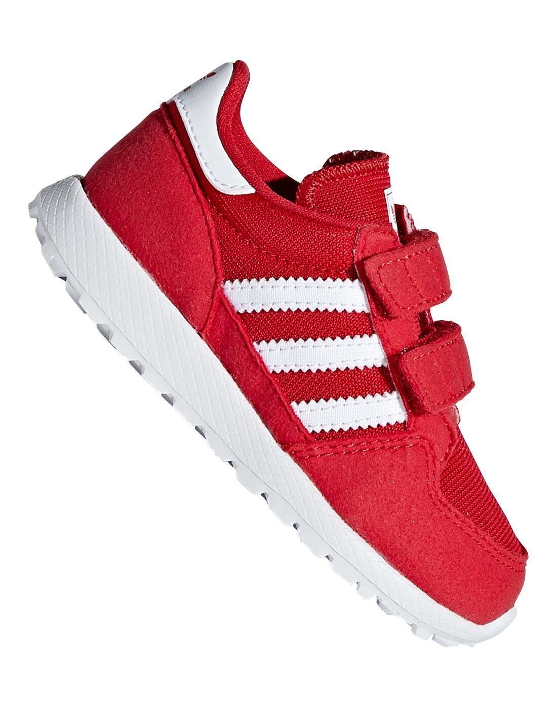 Red adidas Originals Forest Grove