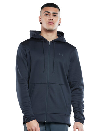 Mens Armour Fleece Full Zip Hoodie