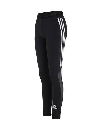 Womens Tech Fit 3-Stripe Leggings