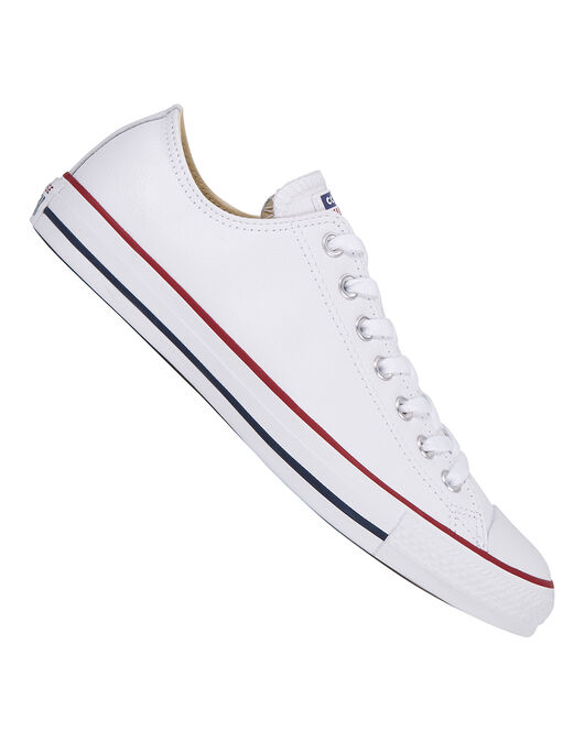 Adults White Leather Ox