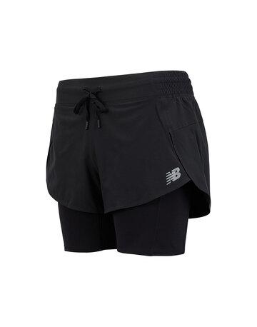 Womens Impact Run 2 In 1 Shorts