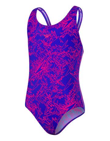 Older Girls Allover Splashback Swimsuit