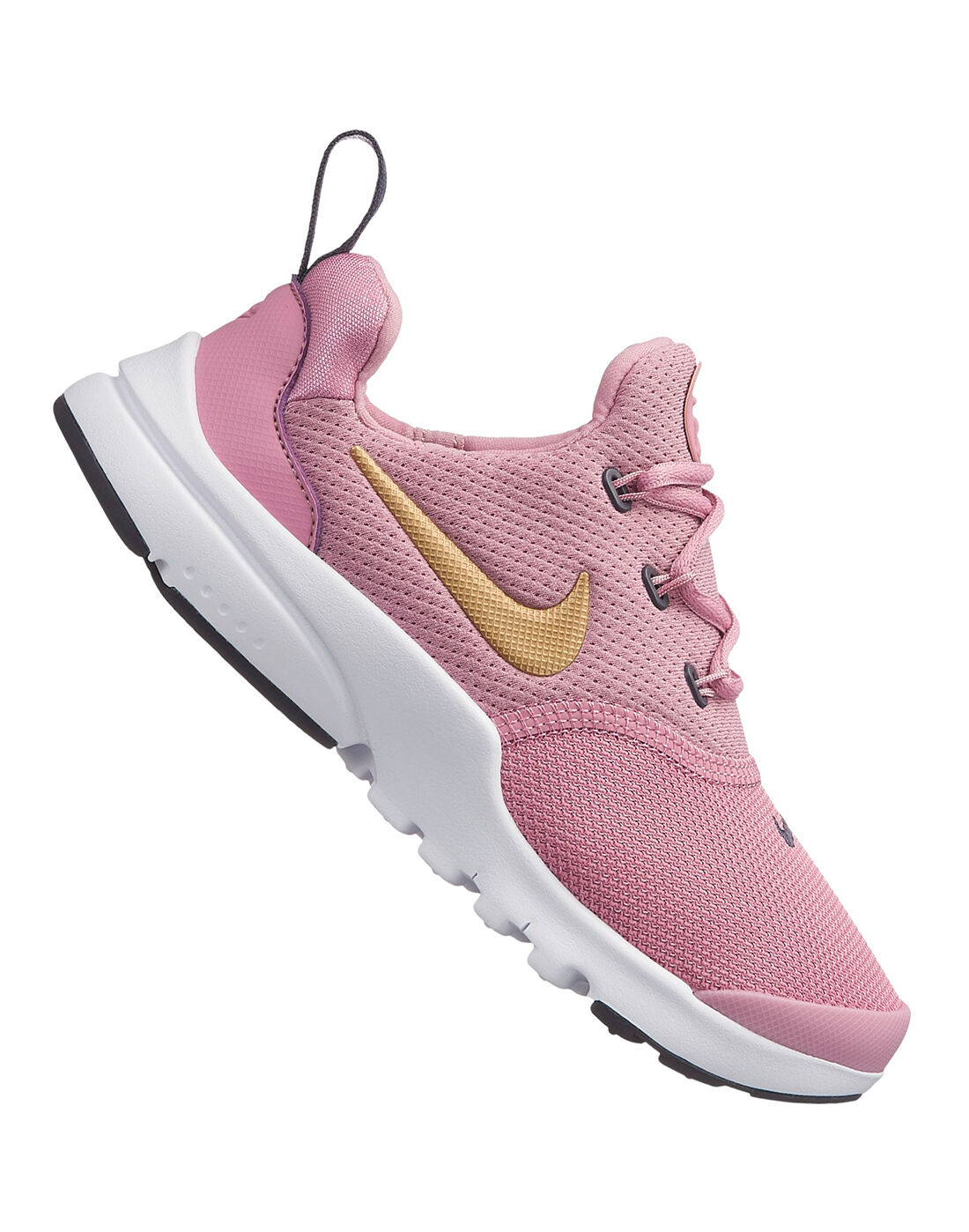 Girls Nike Presto Fly Trainers   Pink