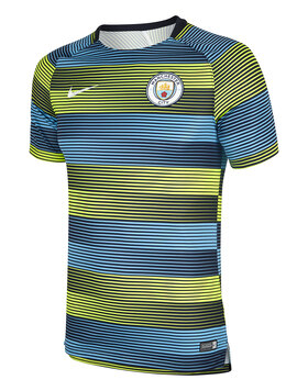 Adult Man City Pre Match Jersey