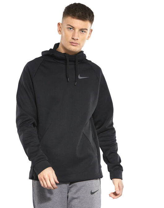 80e27834684f Men s Black Nike Therma Pullover Hoodie