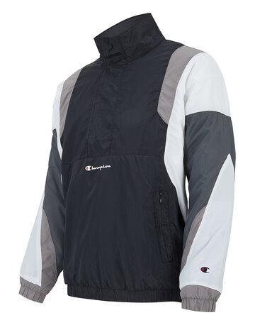 Mens Athleisure Half Zip Jacket