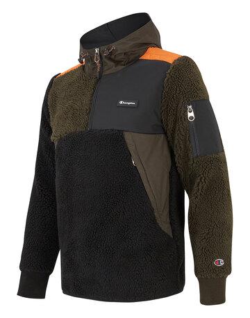 Mens Explorer Fleece Half Zip Hoodie