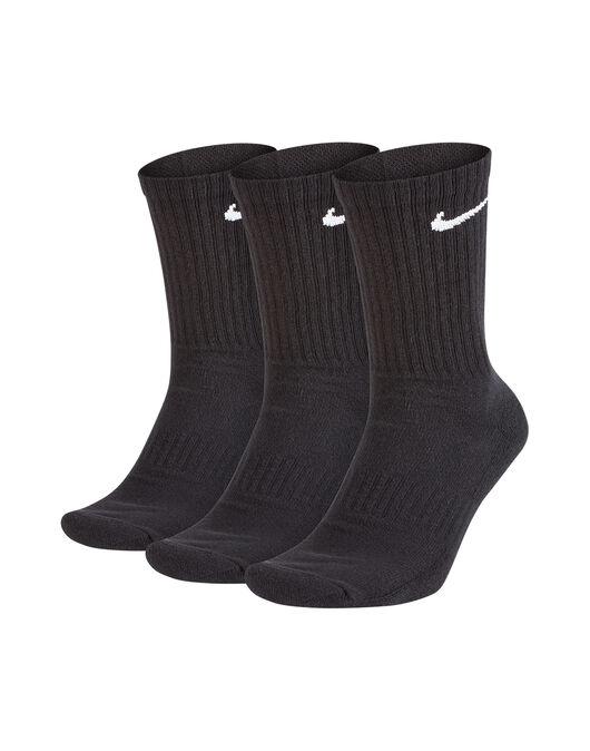 3 Pack Swoosh Logo Cushion Socks