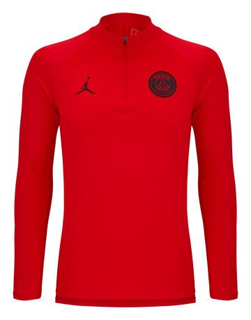 9a0d8cccd140 Adult PSG Jordan Training 1 4 Zip ...