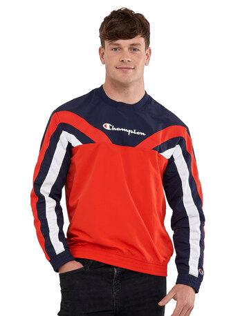 Mens Athleisure Crew Neck Sweatshirt