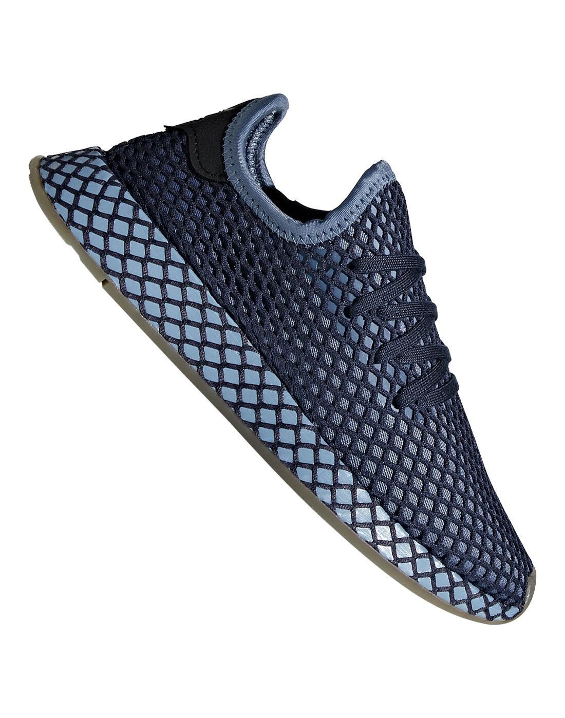 Kids Blue adidas Originals Deerupt Trainers   Life Style Sports